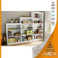 Knock Down Metal Book Rack / Book Cabinet / Portable Bookshelf