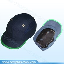 vented mens safety bump cap with helmet