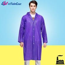 Raining wears plastic rubber pvc vinyl rain coat
