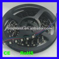 white PCB/black PCB led strip,10mm led strip