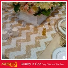Bright Sequin Tablecloth/Runner Glamorous Table Overlay for Bridal Fashion Ready to ship cheap clothing free shipping