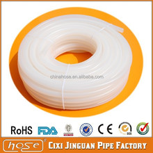 USA Food Grade FDA 10mm Silicone Hose, High Temperature Soft Transparent Silicone Rubber Tube, Extruded Clear Silicone Tube