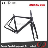 2015 newest super light Di2 carbon disc cyclocross frame BB30/BSA for disc brake