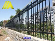 DK020 China manufacturer Galvanized metal Garden decoration fencing