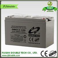 made in china sealed lead acid ups 12v/100ah gel battery