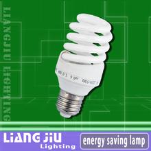 Mini Full Spiral fluorescent tube mirror illuminatedl bulb lighting source housing guzhen bulbs made in China 3w 5w 7w 9w