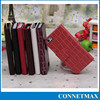 PU Crocodile Embossed PU Leather Wallet Flip Case for iPhone 5/5s
