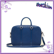 New Fashion Diamond Pattern Ladies Leather Vanity Bag with Long Strap Shoulder