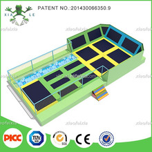 Basket Ball Trampoline Park for Adults