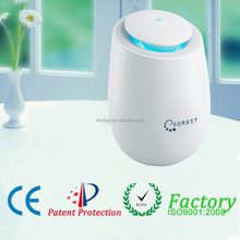 pm2.5 HEPA filter room air purifier, air sterilizer with 200mg/h ozone