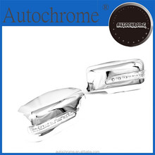 Chrome car trim accent styling gift, Chrome Side Mirror Coverwith LED Side Blinker - for Mitsubishi Lancer Evolution Gen 7/8/9
