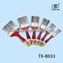 filament paint brushes,plastic handle brush painting ,heshan brush factory