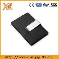 Factory direct sale high quality money clip wallet