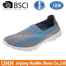 Pure Life Style Woven Elastic Footwear For Men