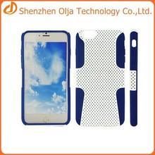 Dirtproof case for iphone 6 plus,waterproof cover for iphone 6 plus case,2 in 1 phone case for iphone 6 plus