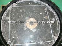 quartz crystal pan , big size flavor wave oven quartz crystal dish