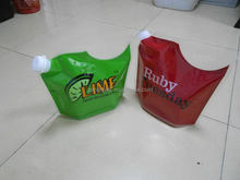 Special hot selling animal shaped plastic beverage pouch