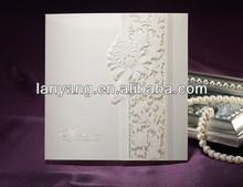 Chinese laser cut Wedding Card Wedding Invitation Card