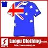 mens plain t shirt with Australia flag