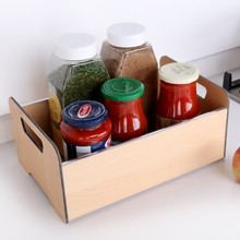 Portable Condiment Station, Seasoning Holder for Sauce Bottles and Cans Storage