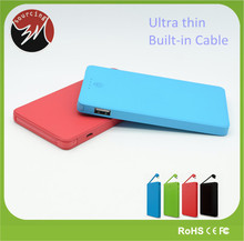 Hot New Products for 2015 Ultra Slim 4000mAh Polymer Battery Credit Card Portable Power Bank for iPhone Smartphone