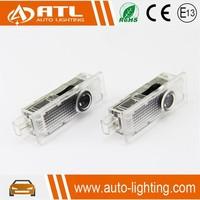 Plug and play car laser logo door light