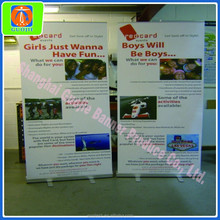 2015 Quality Retractable Roll Up Banner Stand Floor Display Trade Show Exhibit Store