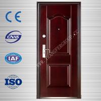 low price exterior steel wood entrance door