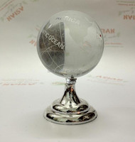 fashion crystal rotating globe for father's gift MH-SQ094