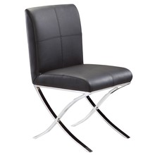 luxury dining room furniture PU Leather restaurant dining room chair metal furniture manufacture SY-835B
