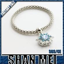 hockey gifts elastic stainless steel bracelet