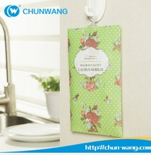 Private label&OEM best smelling Hanging Car perfume pine/green Paper car air freshener for car