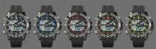 Cool dual time display watch,outdoor wrist watch,sports watch