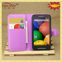 For Motorola MOTO E XT1022 XT1021 flip mobile phone case, China shenzhen pu leather cell covers