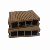 Water resistant and fire retardant wpc plastic composite deck board