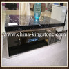 Black Marquina marble inlay table top