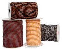 Jacquard Elastic Cords/Strings/Ropes