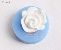fondant flower mold and cutters,fondant cake decorating tools,silicone impression fondant mold