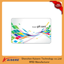 Standard size 2-10 cm reading distance HF smart card