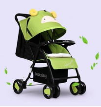 Full canopy new model seebaby stroller baby cradle stand baby walker