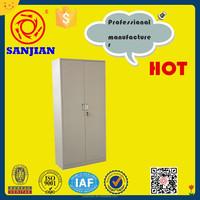 SJ-063 2 door 4 shelve storage mirrored filing cabinet