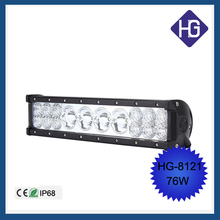 "13.5"" 76W Flood LED work light bar jeep fog boat car Truck Lamps"