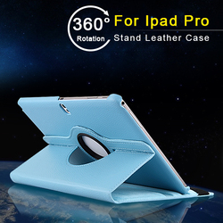 Italy Market PU Lychee Leather Blue for men unbreakable protective case for iPad Pro 12.9
