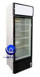 430L low noise display cooler/upright used commercial refrigerators for sale