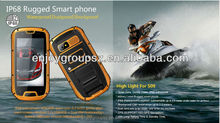 low cost touch screen mobile 4.3inch touch screen ip67 mobile phone waterproof gorilla glass low price big screen mobile phones