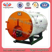 Horizontal type fire tube automatically natural gas fired industrial boiler prices