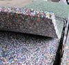 Crossfit Equipment gym floor EPDM dots rubber mats Classical Gym Rubber Flooring