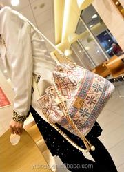 canvas shoulder bag women handbag