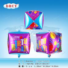 aluminum foil balloon for birthday promotion gift,china balloon factory