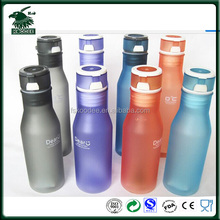Portable Sports Frosted Surface Plastic Water Bottle, Drinking Bottle